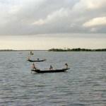 「ロケット・スチーマー」から眺めるベンガルの川の風景【バングラデシュ】