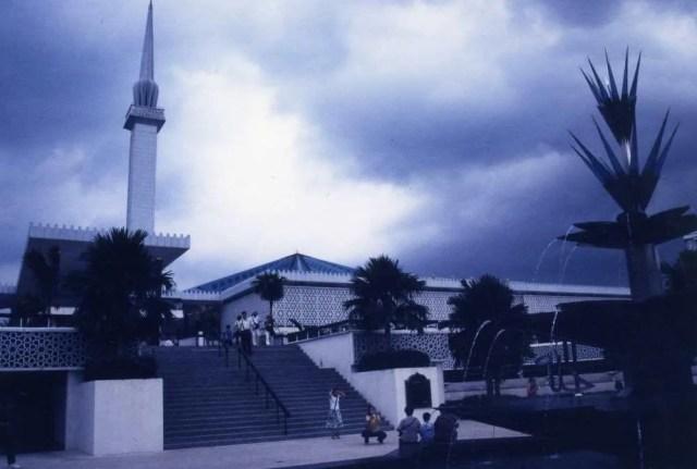 マレーシア クアラルンプール マスジッド・ヌガラ