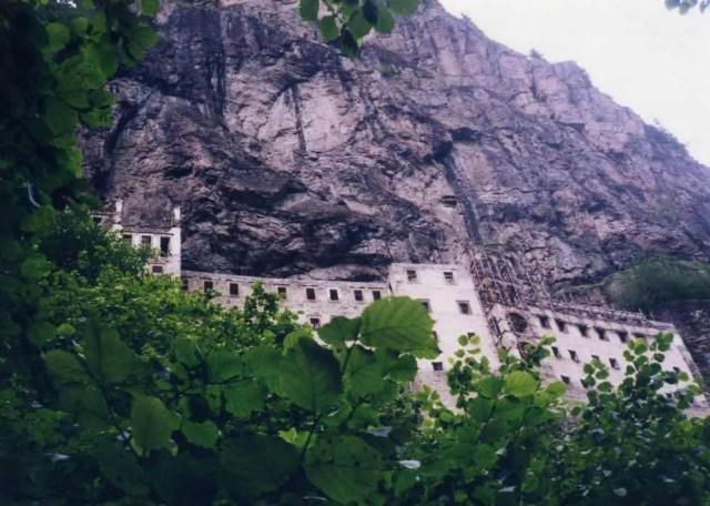 トルコ スメラ僧院