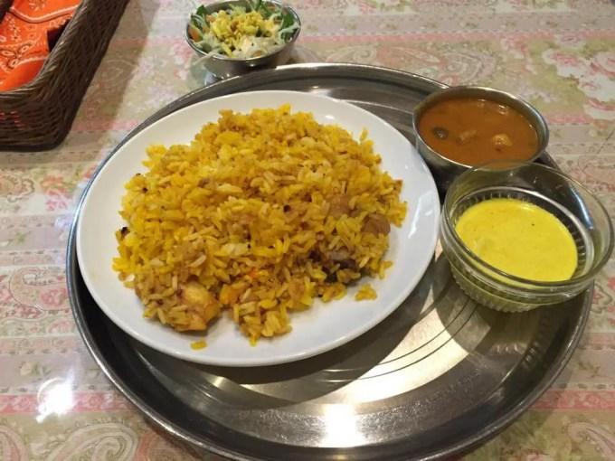 シャヒダワット カレー・インド料理