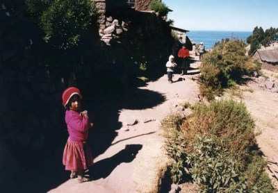 ペルー タキーレ島
