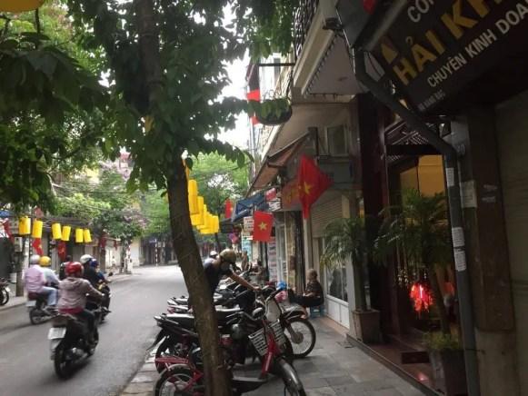 ベトナム2 ハノイ旧市街