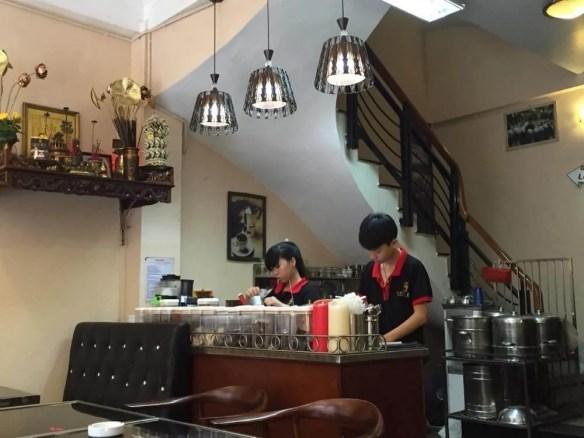 ベトナム4 ハノイ カフェマイ