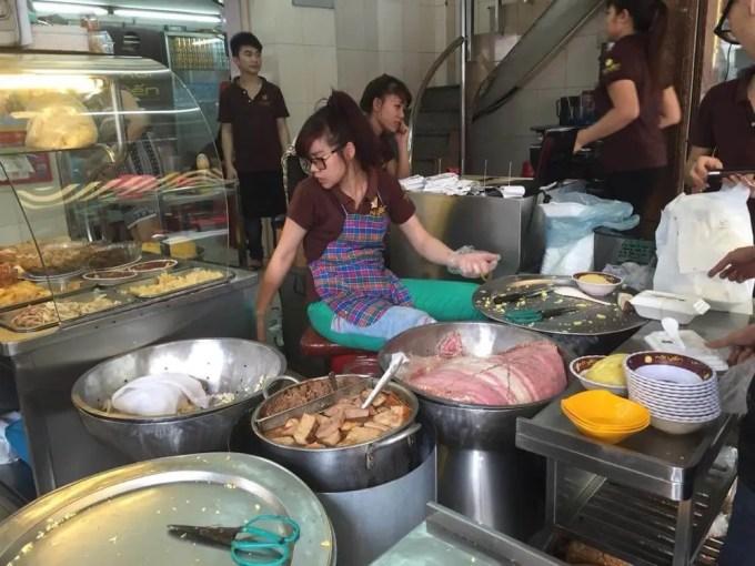 ベトナム4 ハノイ おこわの店 ソイ・イェン