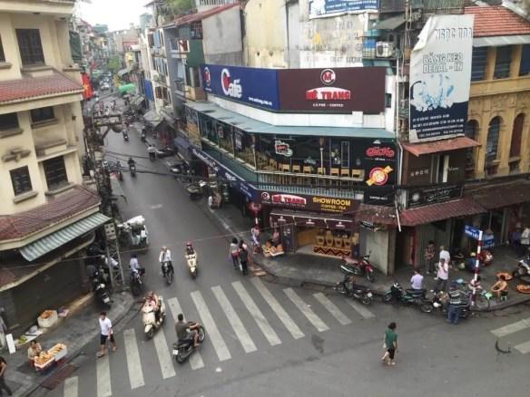 ベトナム5 ハノイ旧市街