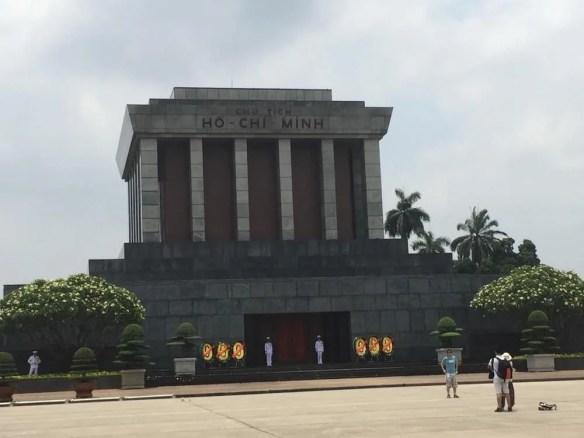 ベトナム5 ハノイ ホーチミン廟