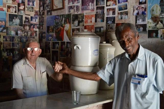 アグア(水)屋、ハバナ旧市街 【キューバ Cuba】