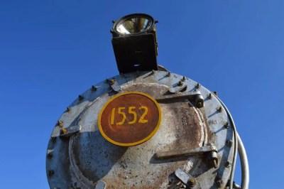 蒸気機関車、トリニダーの駅 【キューバ Cuba】