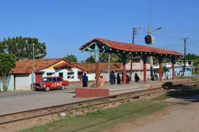トリニダーの駅 【キューバ Cuba】