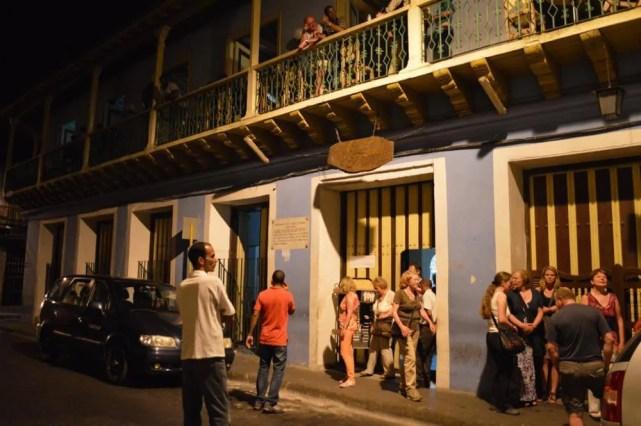 「カサ・デ・ラ・トローバ」、サンティアゴ・デ・クーバの風景 【キューバ Cuba】