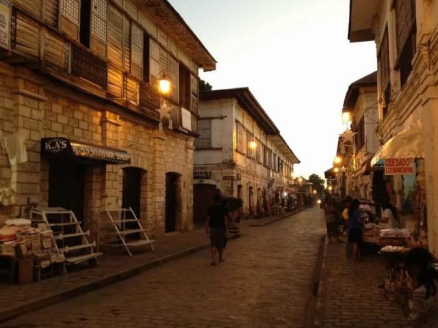 フィリピン、ビガン。夕闇の世界遺産、ビガン歴史都市