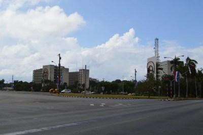 内務省付近、ハバナ新市街の風景 【キューバ Cuba】
