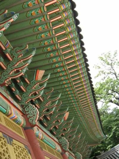 昌徳宮の正殿、仁政殿 【韓国】