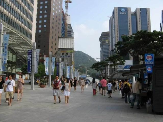 韓国、ソウルの街並み【韓国、ソウル】