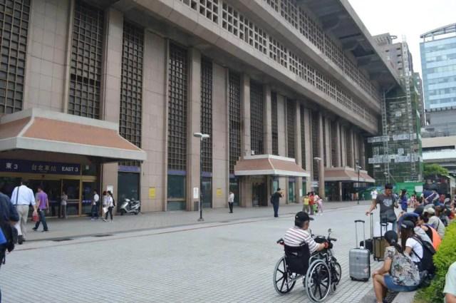 台北駅の豪華な駅舎【台湾・台北】