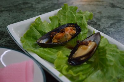 ガイドの蘇氏の家で出された食事【台湾】
