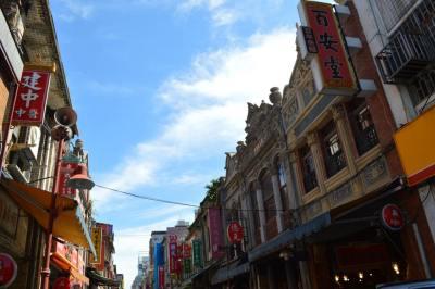 台北、迪化街の街並み【台湾】