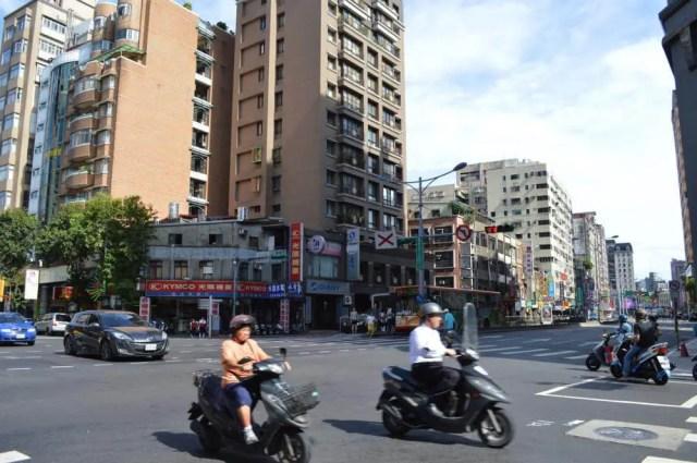台北の街並み【台湾】