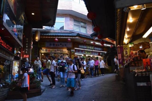 台湾、九份(九分)の風景(基山街)【台湾】