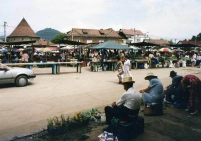 バイア・マーレの市場【ルーマニア】
