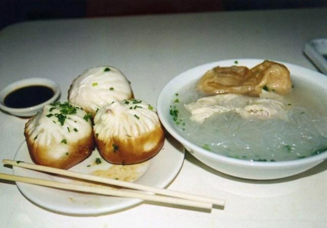 おいしい包子の昼飯 【中国、上海】