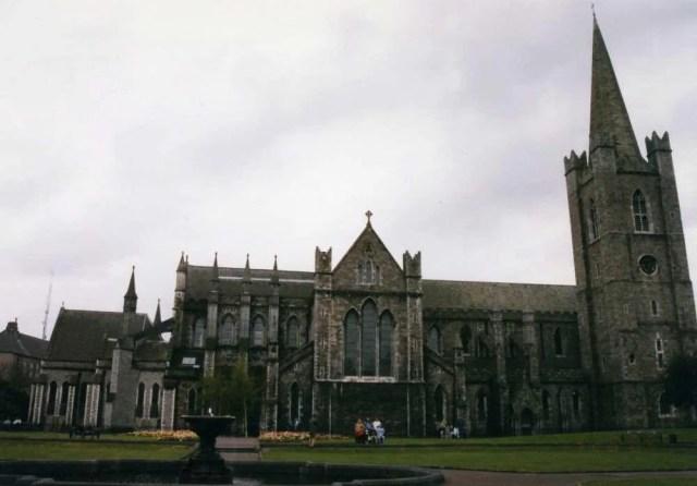 アイルランド最大の聖堂、聖パトリック・チャーチ【アイルランド・ダブリン】