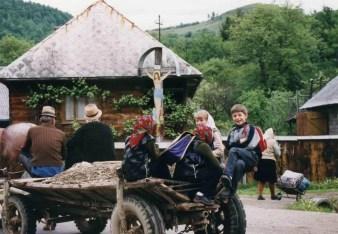 ブルサナの村【ルーマニア】