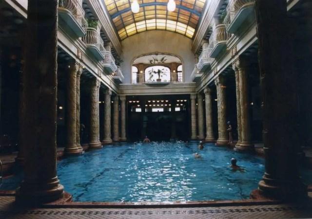 ゲッレールト温泉(ブダペスト) 【ハンガリー】