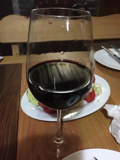 メスティアの宿「オールド・ハウス」の夕食【ジョージア(グルジア)Georgia:საქართველო】
