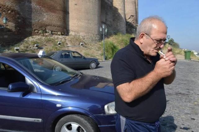 トビリシ、ナリカラ要塞にタクシーで行く【ジョージア(グルジア)Georgia:საქართველო】
