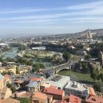 ナリカラ要塞とトビリシ旧市街のパノラマ【ジョージア(グルジア)】
