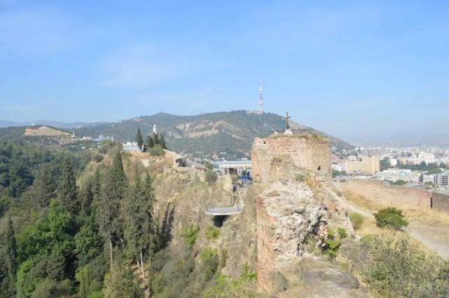 トビリシ、ナリカラ要塞からの眺め【ジョージア(グルジア)Georgia:საქართველო】
