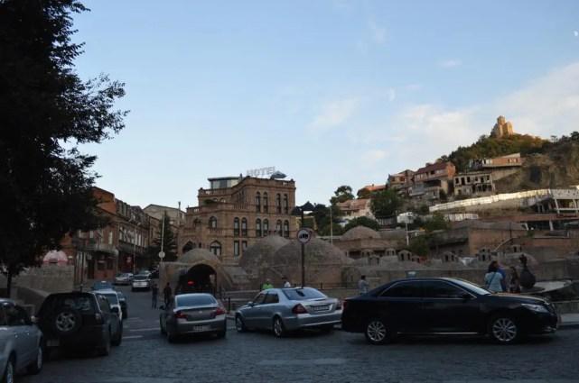 トビリシ旧市街、ハマムのある界隈【ジョージア(グルジア)Georgia:საქართველო】