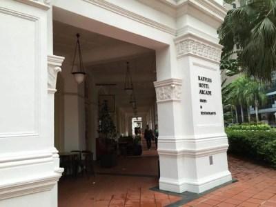 ラッフルズホテル【シンガポール】