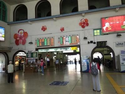 台南駅【台湾12(高雄へ、そして帰国へ)】