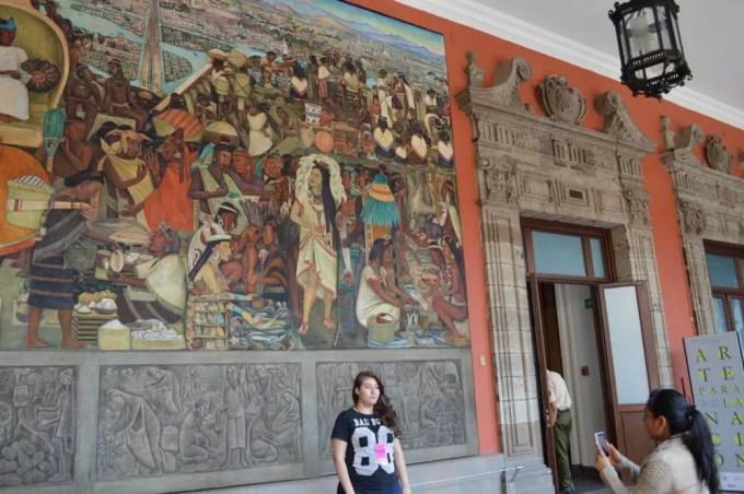 国立宮殿(メキシコシティ②)【メキシコ】