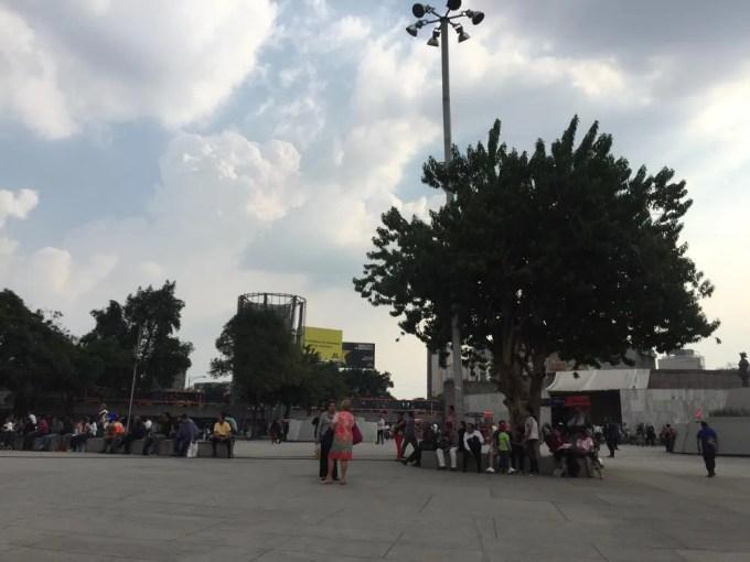 インスルヘンデス駅(ローマ・コンデサ地区)(メキシコシティ③)【メキシコ】