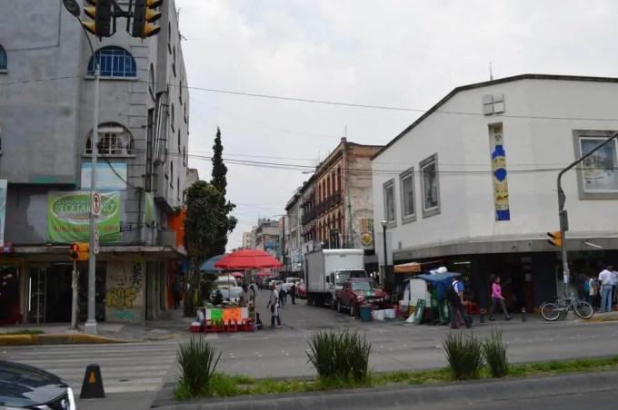 シウダデラ市場への道(メキシコシティ④)【メキシコ】