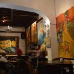 生演奏を楽しめる落ち着いた雰囲気のバー♪『ラオレハ・デ・バン・ゴッホ』@グアナファト