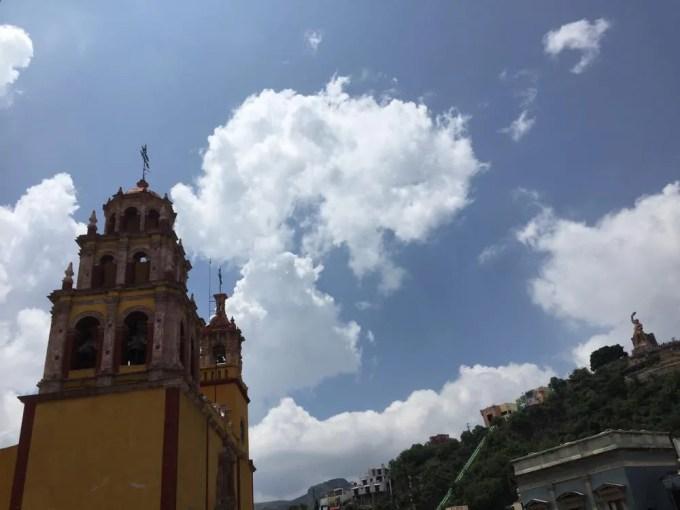ホテル・デ・ラパスからの眺め(グアナファト②朝)【メキシコ】