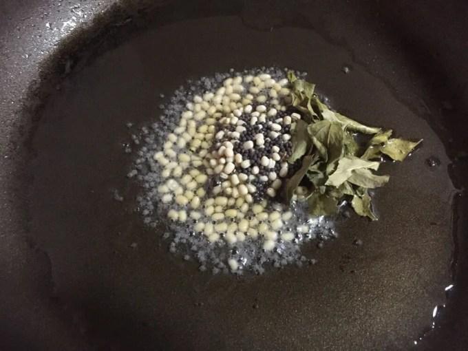 里芋のポリヤル【レシピ】