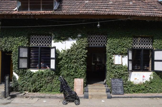 ティーポットカフェ フォートコーチン(南インド・ケララ州2)