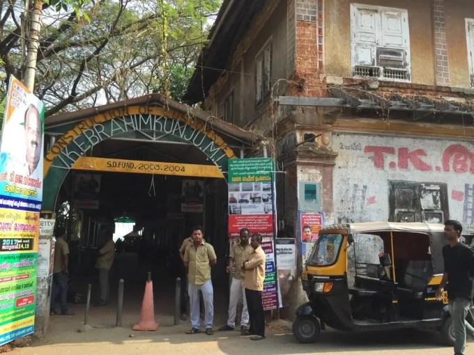 ジェッティー乗り場(南インド・ケララ州4)