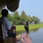 まさに楽園そのもの!ハウスボートでバックウォーターをクルーズ★【南インド・ケララ州】