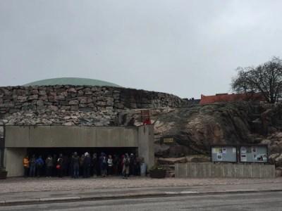 テンッペリアウキオ教会:ヘルシンキ観光(バルト三国②)