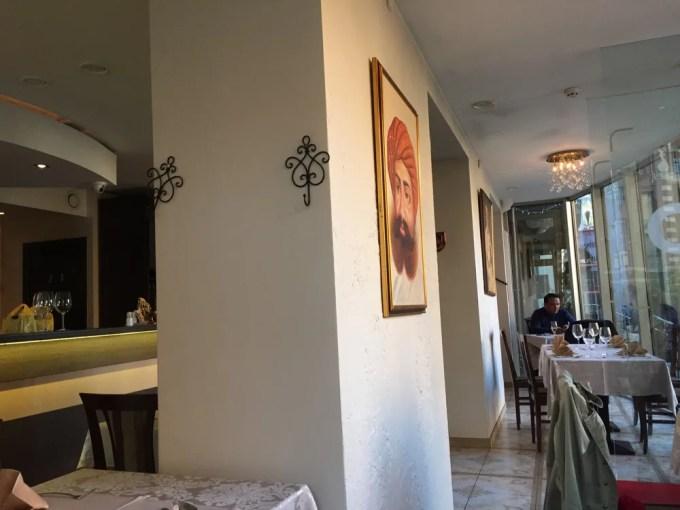 リガのレストラン(インディアン・ラジャ:ラトビア:リガ)