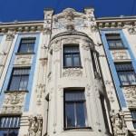 リガ街歩き午後:ユーゲントシュティール建築群~旧市街【バルト三国・ラトビア】