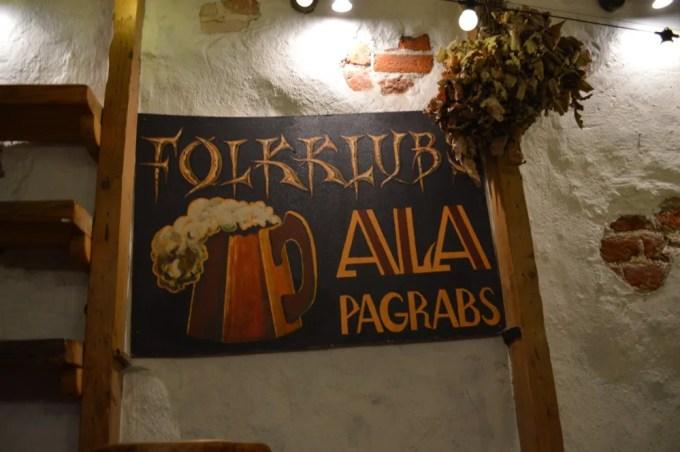 リガのカフェ&バー(フォーククラブ・アラ:ラトビア:リガ)