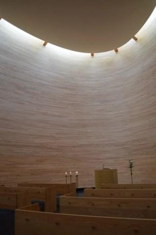 カンピ礼拝堂:ヘルシンキ観光(バルト三国②)
