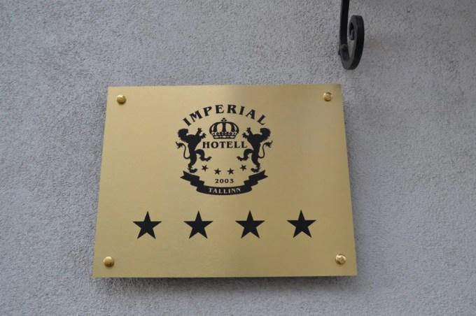 タリン:Hotel Imperial(バルト三国③)